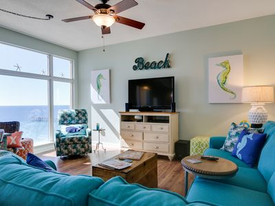 DELICIOUS 3BR / 3BA DIRECT GULF FRONT CORNER UNIT AWAITS YOUR ARRIVAL