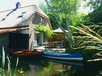Photo for Giethoorn Lodge, Luxury Holiday Home