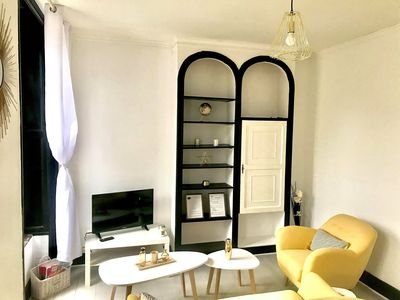Photo for Cozy apartment in the heart of the Baths of Contrexéville