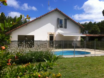 Photo for House La Métairie in Soustons (Wifi / Private Pool)