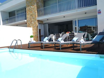 Photo for 3 bed room villa Privat Pool + bbq + Free WIFI Albufeira for 8 persons maximum