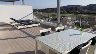Photo for Avalon - 2 beds/2 bath - Penthouse (not overlooked): sea & mountain & golf view
