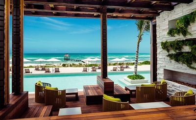 A beautiful pool overlooking the ocean. Is this your HAPPY PLACE?