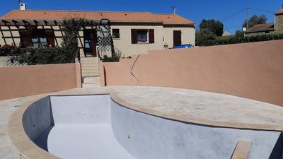 Photo for NEW House of 90m2 with private pool not overlooked 7 km from the sea