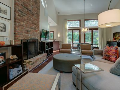Photo for Gorgeous Home in Secluded Wooded Area 15 mins from East Hampton Village