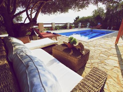Photo for Villa Mystique -Charming, serene with pool and magical sea view
