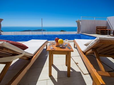 Photo for A Real 'Away from it All' 2 Bedroom Villa on Headland between Kalkan and Patara