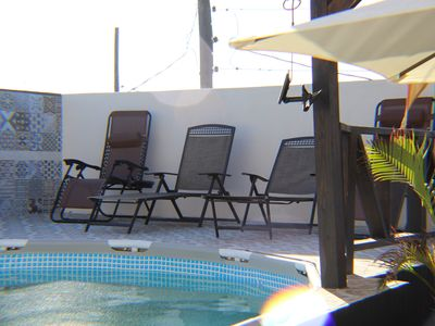 Photo for Comfy 1 Bedroom Apt with Pool, Pergola & Cabana & Airport Pickup E6