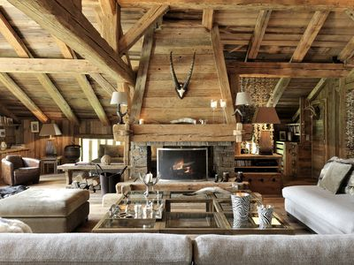 Photo for MEGEVE Exceptional chalet in exclusive Mont d'Arbois