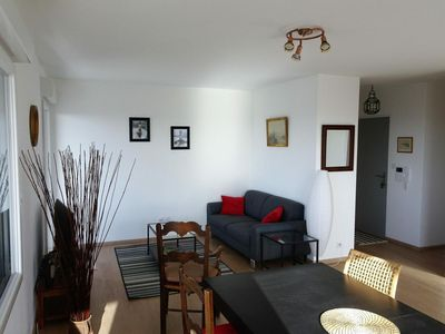 Photo for Apartment 85m2 + balcony 12m2 / sea view / 2 bedrooms / garage