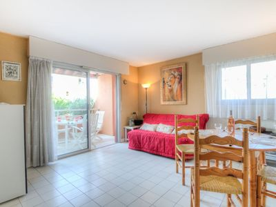 Photo for Apartment 670 m from the center of Fréjus with Lift, Parking, Internet, Washing machine (137613)