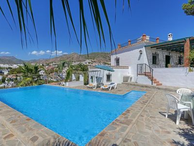 Photo for 2 bedroom Villa, sleeps 5 in Nerja with Pool, Air Con and WiFi