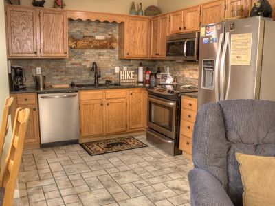 Photo for Beautiful 1 BR Condo with Mtn and Downtown Pigeon Forge View!