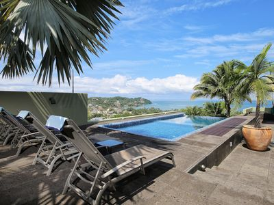 Photo for For lovers of modern architecture, combines 360' views, private pool and privacy