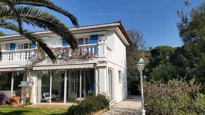Photo for St RAPHAEL - Beautiful air-conditioned duplex in a private residence with trees near golf courses