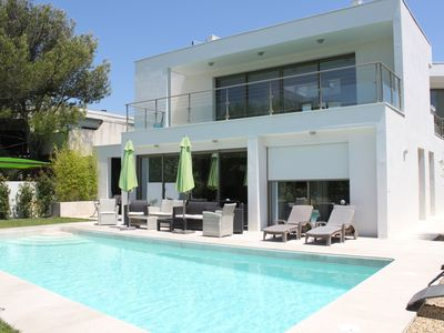 Photo for LA GRANDE MOTTE - Architect's villa with large swimming pool 150 m from the beaches