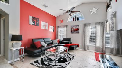 Photo for Welcome to The Inspiration Villa  3 miles from Disney World, southfacing pool