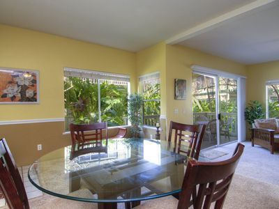 Photo for Large Poipu Kai Corner, Ground Floor, Quiet Condo With Relaxing Trade Winds♡☺