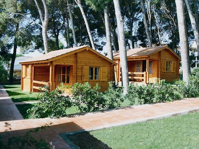 Photo for Bungalow Campsite only 50 meters from the beach