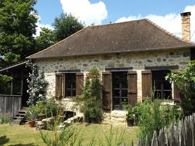 Photo for Cottage Dordogne/Limousin. Sleeps up to 4 people. Set in beautiful countryside.