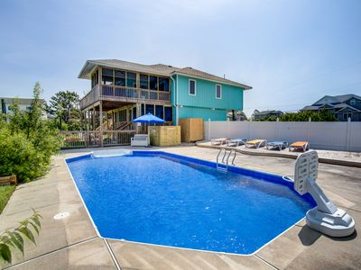 Photo for Seas the Bay | 1300 ft from the beach | Private Pool