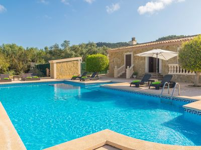 Photo for VILLA ARHU - Villa with private pool in Capdepera.