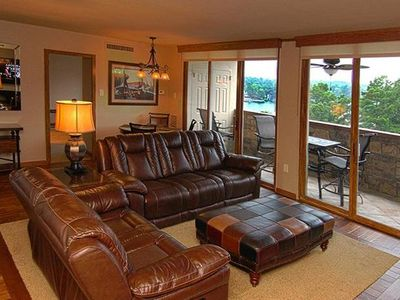 Photo for Luxury 2BR/2BA,Gated Lake Condo,Covered Park,Pool,Wifi,Boat Slip,Lake View