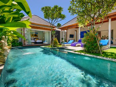 Photo for Private Villa with Pool, Lanai, Walk to Seminyak Beach, Restaurant & Shops