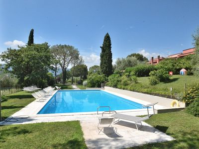 Photo for Residence Paradiso del Garda With Pool - Apartment for 5 people in Puegnago sul Garda