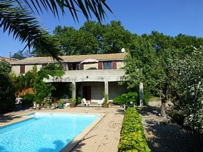 Photo for Gite With Private Pool And Vineyard Views on Canal du Midi