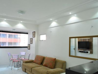 Photo for FLAT WITH EXCELLENT LOCATION, A 1 BLOCK FROM THE SEA, THE 1,5km Feirinha BM