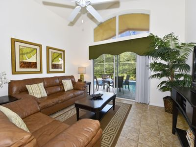 Photo for Beautiful 4 Bed pool home close to Disney