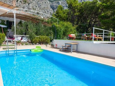 Photo for ctma144/ Charming holiday home, away from the crowds with private pool in Makarska, up to 4 persons