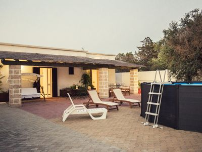 Photo for Gallipoli countryside house with swimming pool - 2 independent rooms with private bathroom
