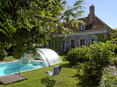 Photo for Beautiful holiday home for 14 people with private pool