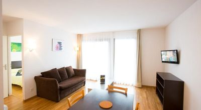 Photo for Modern apartment with 1 bedroom with swimming pool, gym & Parking | Ref: 12029