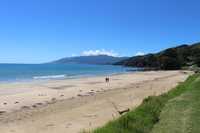 Waitete Bay ~ main beach