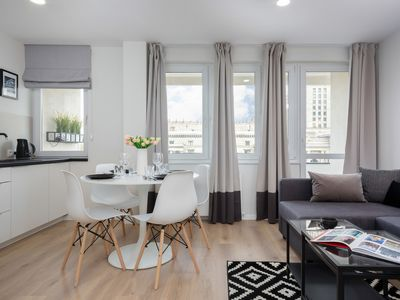Photo for Apartment Emilii Plater | 2 Bedrooms, Balcony