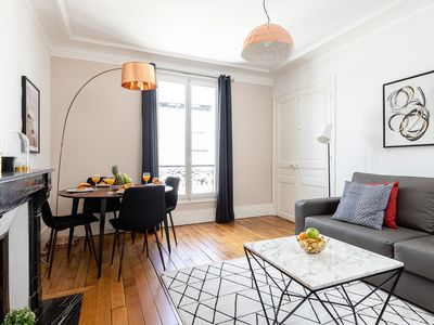 Photo for CHARMING 1BR IN THE LATIN QUARTER JUST STEPS FROM LE PANTEHON!