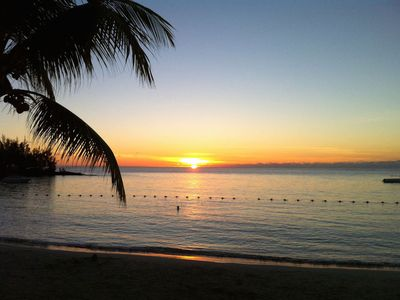 Photo for Seafront Apartment opposite beautiful Pereybere Beach, Mauritius