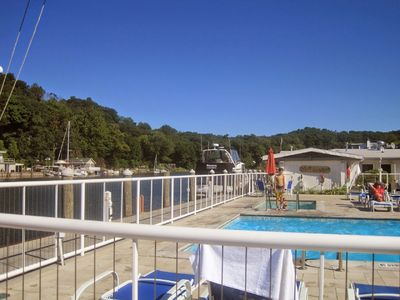RNR nesters have included seasonal access to the Ship n Shore pool and hot tub!