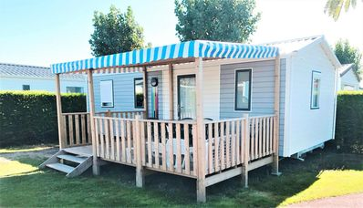 Photo for Camping Le Bel Air ***** - Mobil Home Grand Confort TV 3 Rooms 4/6 People