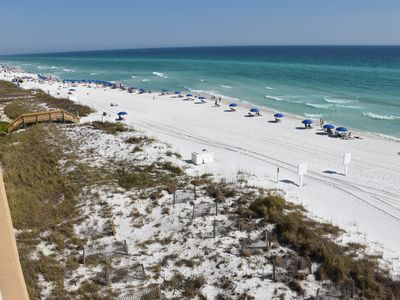 Photo for Destin Gulfgate 401 XLG Beach Front 2BR 2BA.
