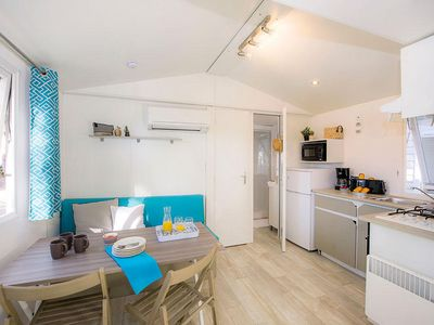 Photo for Camping Le Neptune **** - Mobil Home Premium 3 rooms 5 people conditioning