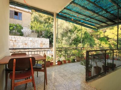 Photo for Two bedroom apartment with terrace Lastovo (A-8322-a)