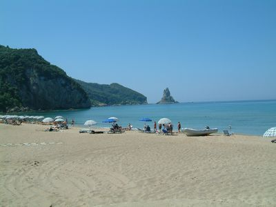 """Photo for Holiday Studio Apartments """"yannis"""" on the beach of Agios Gordios in Corfu"""