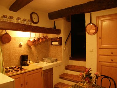 Photo for Apartment 2 Parts Kitchen, bathroom, toilet, furnished Provençal style
