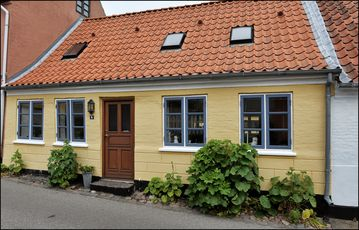 Charming townhouse in Marstal