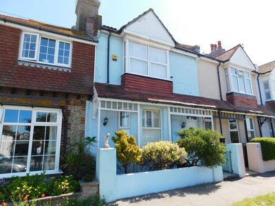 Photo for Dog Friendly Spacious Three Bedroom Victorian House, 100 yards from the beach