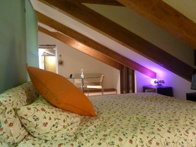 Photo for Splendid attic with hammam in the heart of Turin